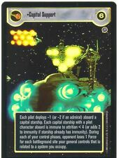 Star Wars CCG Reflections II Foil Capital Support