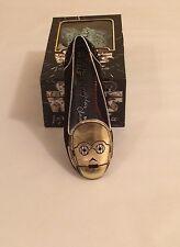 NIB Disney Parks Irregular Choice Star Wars C3-PO C3PO Women's Loafer Sz 10 shoe