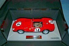 800 units BBR 1/18 Ferrari 250 TR 14 Winner 1958 Le Mans MR P Hill