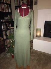 James Coviello for SPIEGEL Wool Crochet Delicate Fine Gauge Dress Size M