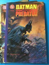 Dark Horse Comics Batman Vs Predator # 1, 2 & 3 Kubert x2