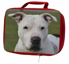 American Staffordshire Bull Terrier Dog Insulated Red School Lunch B, AD-SBT5LBR
