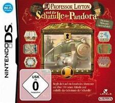 Nintendo DS 3DS Professor Layton und die Schatulle der Pandora * Top Zustand