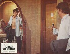 ALAIN DELON LE CLAN DES SICILIENS 1969 VINTAGE LOBBY CARD ORIGINAL #2