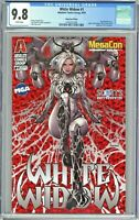 White Widow #1 CGC 9.8 MegaCon Edition Kael Ngu Variant Red Holofoil Cover