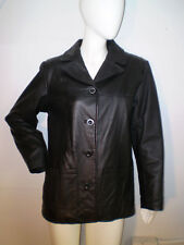 Route 66 Women's Black Leather Jacket Size M
