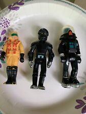 Vintage 1974-1979 Fisher Price Adventure People Space Figure Alien Lot (3)