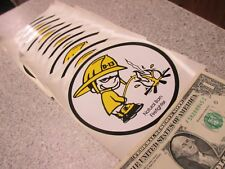 10 Qty FIREFIGHTER Fireman bumper stickers wholesale novelty humor lot
