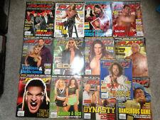 WWF WWE RAW Magazine Complete Full Year 2004 x 13 Issues  Joblot bundle
