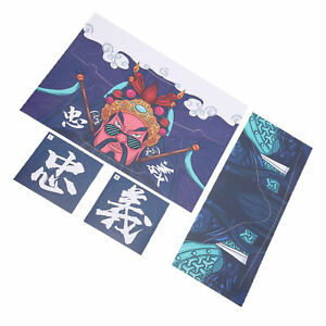 VR Decals PVC Removable Glasses Sticker For Quest 2(Loyalty Guan Gong)