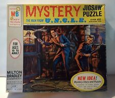 Man From Uncle Mystery Jigsaw Puzzle Milton Bradley 1965 Complete