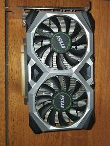 MSI Nvidia GeForce GTX 1650 Ventus XS 4G OC Graphics Card 4 GB GDDR5, 1740 MHz,