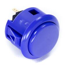 Sanwa OBSF-30mm Snap-in Button-MARINE BLUE-OEM
