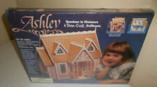 Dura Craft AH130 1992 Ashley Mansions in Miniature Wood Dollhouse Kit