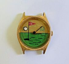 GOLF Quartz Watch LPGA Repair or Steampunk small face