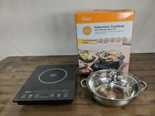 Rosewill RHAI-15001 1800W Induction Cooker Cooktop with Stainless Steel Pot