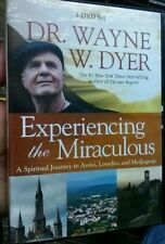 Dr Wayne Dyer Experiencing The Miraculous 4 DVD Set