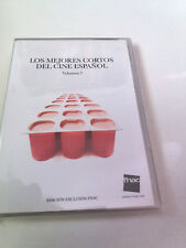 """DVD """"LOS MEJORES CORTOS DEL CINE ESPAÑOL VOLUMEN 2"""" MATEO GIL BELEN MACIAS"""
