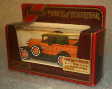 Matchbox Models Of Yesteryear Y7 1930 Model A Ford Wreck Truck Barlow Motors