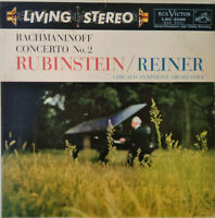 RCA LIVING STEREO LSC-2068 *SHADED DOG* RACHMANINOV 2 *RUBINSTEIN REINER* EX/NM