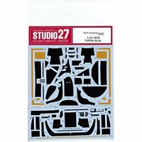 STUDIO27 ST27-CD24026 787B CARBON DECAL FOR TAMIYA 1/24 SCALE KIT