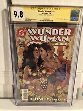 WONDER WOMAN #141 CGC SS 9.8 SIGNED ADAM HUGHES