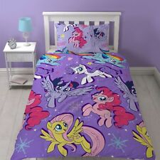 My Little Pony Movie 'Adventure' Rotary Single Bed Duvet Quilt Cover Set Gift
