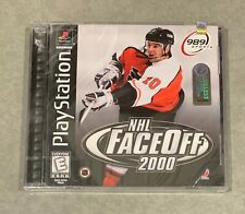 NHL FACEOFF 2000 [Sony Playstation] PS1 PSX PS One - Brand New & Factory Sealed!