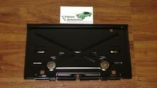 License Plate Tag Bracket Rear with Hinge Camaro Nova Caprice Chevelle Malibu