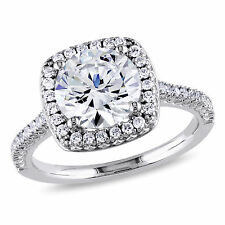 Sterling Silver White Cubic Zirconia Ring