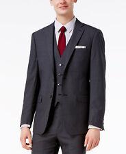 $645 CALVIN KLEIN Extreme Slim Fit Wool Sport Coat Gray SUIT JACKET BLAZER 36 S
