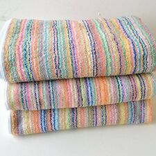 ECO Stripe High quality Bath Towel 3 sheets set Made in Imabari Japan