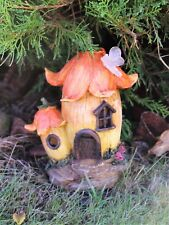 Garden Fairy Mushroom Flower  House Solar Decorative Ornament Secret Gift
