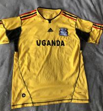 Uganda Football Shirt Yellow, Men's Large?