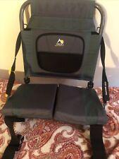 GCI Outdoor Green Canoe/ Stadium / Bleacher Chair Foldable Seat w/ Back Support