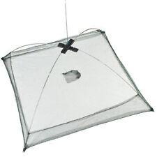 Fishing Bait Trap Cast Dip Net Cage Crab Fish Minnow Shrimp Crawdad Foldabl K2O4