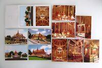 Kambodscha AK Lot 12 x PHNOM PENH Postkarten Leporello Cambodia Asien Asia