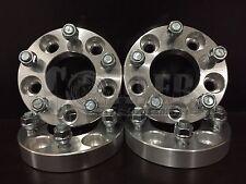 "(4) 1"" Wheel Spacers Aluminum Adapters 5 Lug 5x4.5 Fits Mazda B2500 B3000 B4000"