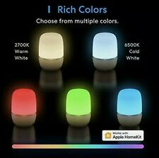 New Smart Table Lamp Meross Dimmable WiFi Lamp Works with HomeKit Ios13+