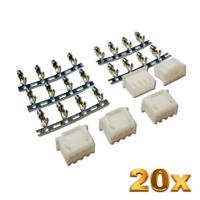 20 Stück 3S 4Pin JST-XH 2.5mm Balancer Mini Female Stecker Crimp XH Lipo Akku RC