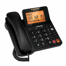 VTech T1200 Corded Home Phone - black