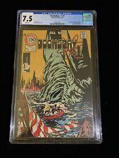 1975 Doomsday + 1 #1 Charlton Comics CGC 7.5 White Pages 7/75, 1001