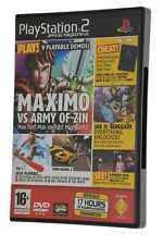 PlayStation 2 PS2 Games Demo Official UK Magazine #43 Worms 3D Rogue Ops I-Ninja