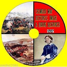 Guerra di Crimea PC DVD 450 + SUPERBA immagini di guerra e 50 storico i registri PDF NUOVO
