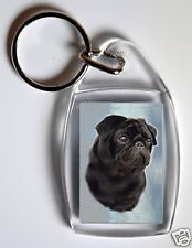 Pug Key Ring No 1 By Starprint - Auto combined postage