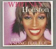 whitney houston - a song for you live  import only  cd  new