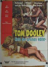 TOM DOOLEY - HERR DER GRÜNEN HÖLLE (Plakat '59) - JOHN SUTTON / GINA ALBERT
