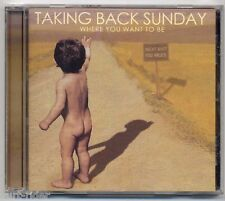 TAKING BACK SUNDAY Where You Want To Be - CD a130