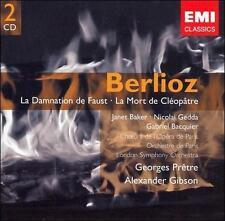 Berlioz: La Damnation de Faust (CD, Apr-2007, 2 Discs, EMI Classics) NEW SEALED