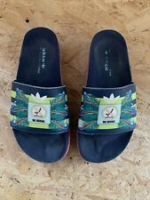 Adidas, Mary Katrantzou Adilette Up. Navy Pink. UK 6